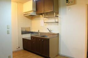 コーポなみまつ Ⅱ 102号室のキッチン