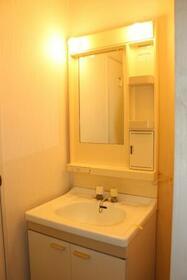 コーポなみまつ Ⅱ 102号室の洗面所