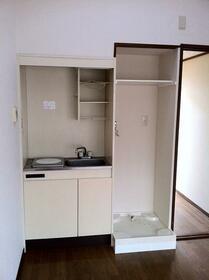 開成ハイツ 203号室のキッチン