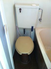 開成ハイツ 203号室のトイレ