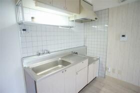 アゼリアハウス H-1号室のキッチン