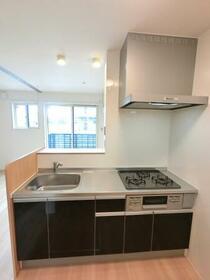 コ・クリエ B 201号室のキッチン