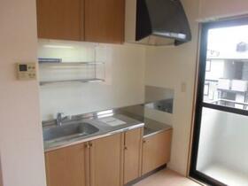 ヴィラ グランデ C 202号室のキッチン