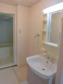 ヴィラ グランデ C 202号室の洗面所