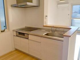 (仮)D-room筑西市布川 A 101号室のキッチン