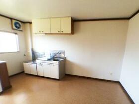 樹園マンション 207号室のキッチン