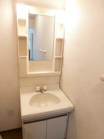 フレマリール堀込 A 202号室の洗面所