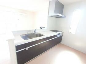 ブランシェ 201号室のキッチン