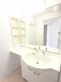 ブランシェ 201号室の洗面所