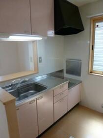 ピュール 101号室のキッチン