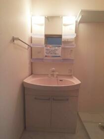 ピュール 101号室の洗面所