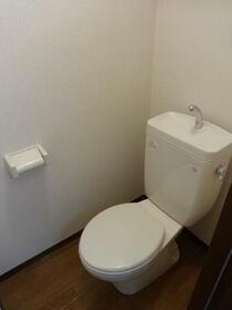 ヒルトップテラス三春台 102号室のトイレ