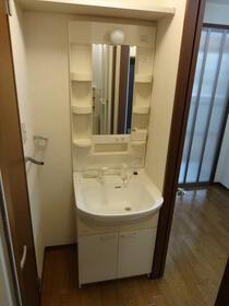 ヒルトップテラス三春台 102号室の洗面所