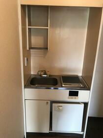 エミグラント多摩川 109号室のキッチン