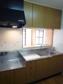 レジデンス 山手台 202号室のキッチン