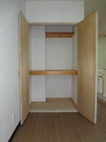 ファインキャッスル 201号室の収納