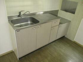 メゾンベール A 101号室のキッチン