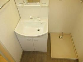 メゾンベール A 101号室の洗面所
