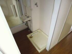ハイツユキ 202号室の洗面所