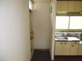 ハイツユキ 202号室の玄関