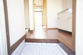 パシフィックハイツB、C B9号室の玄関