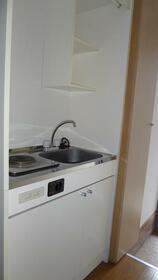 ジュネスⅠ 202号室のキッチン