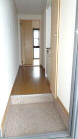 ジュネスⅠ 202号室の玄関