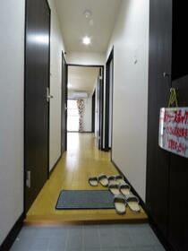 ユーミータウン 302号室の玄関