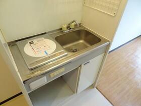 スプリーム横浜 206号室のキッチン