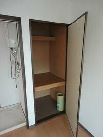 クリンピア 201号室の収納