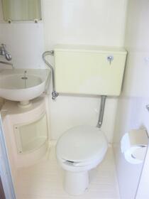 浅見ハイツ 101号室のトイレ
