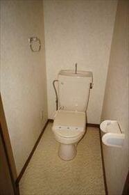 ハピネスソルファ 603号室 603号室のトイレ