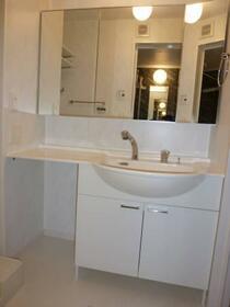 シルキーコート 101号室の洗面所