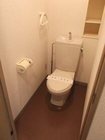 横山ガーデンヒルズ 501号室のトイレ