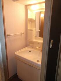 横山ガーデンヒルズ 501号室の洗面所