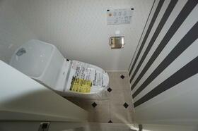 ヒルズ山手Ⅳ 201号室のトイレ