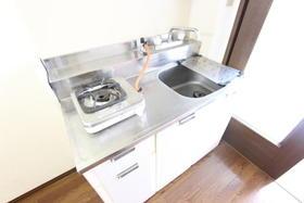 ハーモネイトⅡ 105号室のキッチン