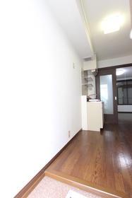 ハーモネイトⅡ 105号室の玄関