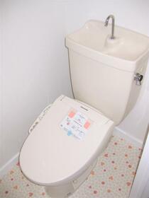 ルミエール高崎 308号室のトイレ
