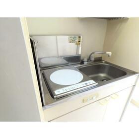 プランドール西川田 旧カーサー西川田 201号室のキッチン