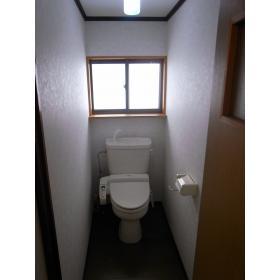 ハイツ木藤 201号室のトイレ