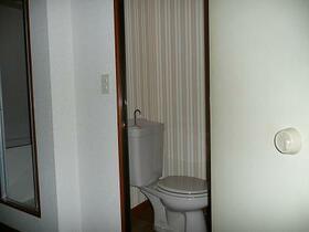 さくらハイツ 206号室のトイレ