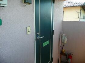 さくらハイツ 206号室の玄関