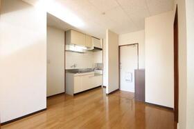 ヒルズ鶴見A棟 201号室のキッチン