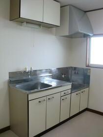 フォレストヴィラ 207号室のキッチン