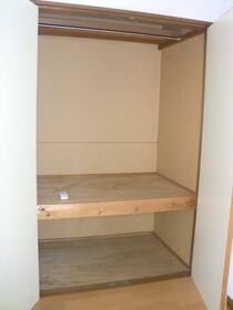 フォレストヴィラ 207号室の収納