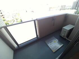 グランコア21 603号室のバルコニー