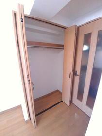 グランコア21 603号室の収納