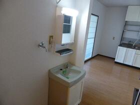 サンシティHOOU(ホーオウ) 101号室の洗面所