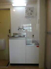 ジョイフルオークラ30 101号室のキッチン